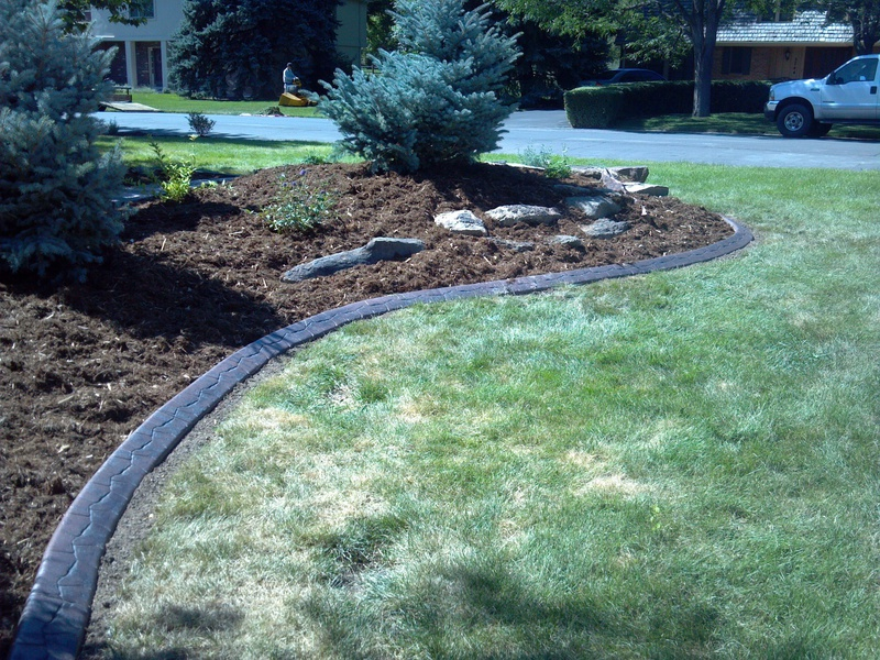 Decorative Landscape Borders Installer Of Concrete Landscape Edging