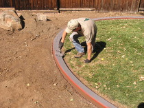 Texturing landscape borders, Decorative Landscape Borders, Golden CO