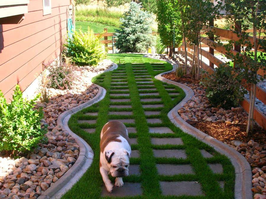 Landscape Border 4x6 Mower Style Concrete Edging